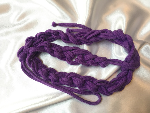 Purple Cotton Rope